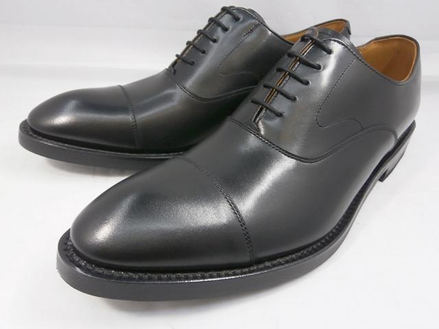 リーガル 靴 メンズ グッドイヤー式ストレートチップ ビジネスシューズ 01RR(ブラック)REGAL
