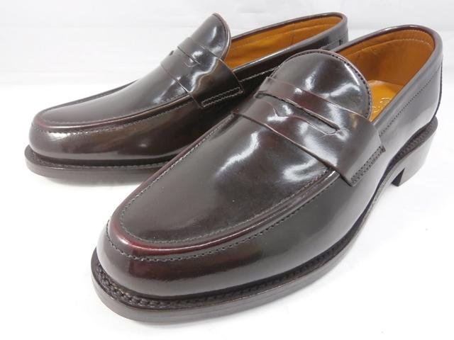 ロンドンシューメイク London Shoe Make オックスフォード&ダービー Oxford & Derby 8020(ダークブラウン) コインローファー メンズ ビジネスシューズ グッドイヤーウェルト製法 本格紳士靴