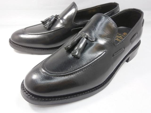 ロンドンシューメイク London Shoe Make オックスフォード&ダービー Oxford & Derby 8009(ブラック) タッセルローファー メンズ ビジネスシューズ グッドイヤーウェルト製法 本格紳士靴