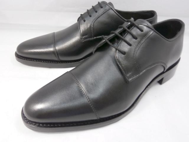 ロンドンシューメイク London Shoe Make オックスフォード&ダービー Oxford & Derby 8023(ブラック) ストレートチップ メンズ ビジネスシューズ グッドイヤーウェルト製法 本格紳士靴