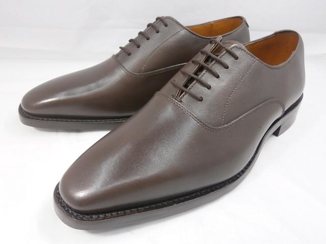 ロンドンシューメイク London Shoe Make オックスフォード&ダービー Oxford & Derby 8026(ダークブラウン) バルモラルプレーントゥ メンズ ビジネスシューズ グッドイヤーウェルト製法 本格紳士靴