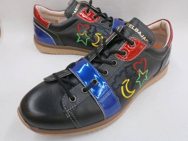 CASTELBAJAC カステルバジャック カジュアルスニーカー 12234(ブラック)靴 メンズ