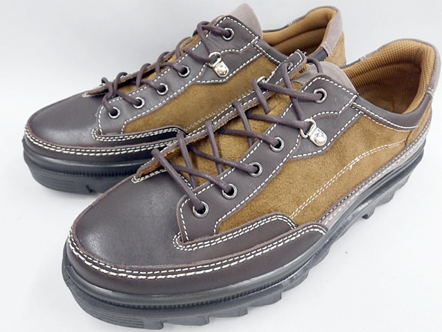 【19年新製品】 BOBSON(ボブソン)アウトドアーカジュアル4358(ダークブラウン/オリーブ)メンズ 靴