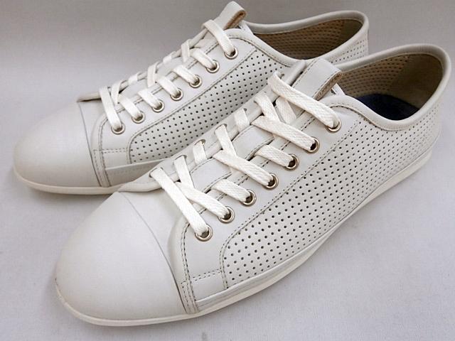 【20年新発売 】 キャサリンハムネット スニーカーカジュアル HAMNETT 37052(ホワイト)KATHARINE HAMNETT メンズ靴