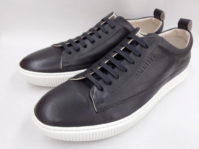 【19年秋発売 】 キャサリンハムネット スニーカーカジュアル HAMNETT 37041(ブラック)KATHARINE HAMNETT メンズ靴