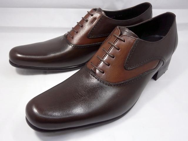 【人気デザイン】 キャサリンハムネット 靴ビジネスシューズ 31442(ダークブラウン)内羽根サドルシューズKATHARINE HAMNETTメンズ