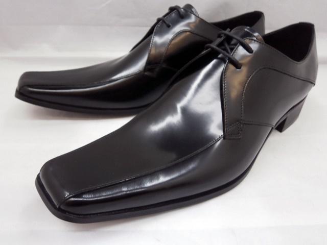 【日祝も即日発送】 キャサリンハムネット 靴 ビジネスシューズ 3948(ブラック) KATHARINE HAMNETT メンズ 紳士靴