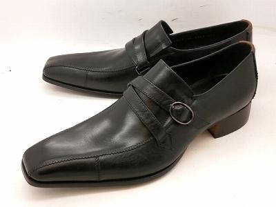 【日祝も即日発送】【28.0cmまで】 キャサリンハムネット 靴 モンクストラップ ビジネスシューズ 31501(ブラック)KATHARINE HAMNETTメンズ 紳士靴