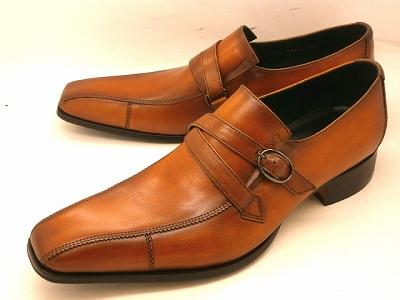 【人気ナンバーワン】キャサリンハムネット モンクストラップ 31501(ブラウン)KATHARINE HAMNETT靴 紳士靴