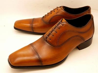 【28.0cmまで】キャサリンハムネット 靴ストレートチップ ビジネスシューズ 31504(ブラウン)KATHARINE HAMNETT メンズ 紳士靴