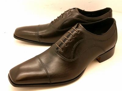 【28.0cmまで】 キャサリンハムネット 靴ストレートチップ ビジネスシューズ 31504(ダークブラウン)KATHARINE HAMNETT メンズ 紳士靴