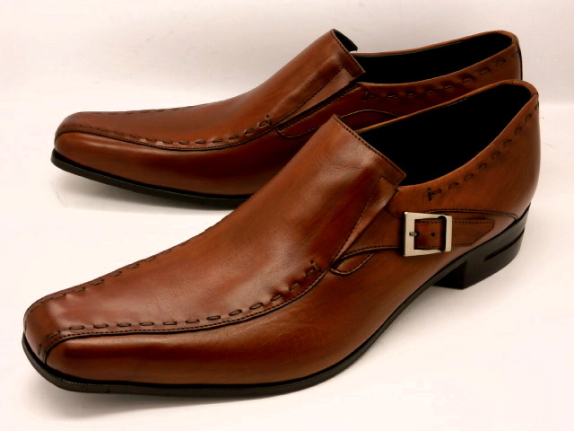 【日祝も即日発送】 キャサリンハムネット 靴ビジネスシューズスリッポン 31600(ブラウン)KATHARINE HAMNETT メンズ 紳士靴