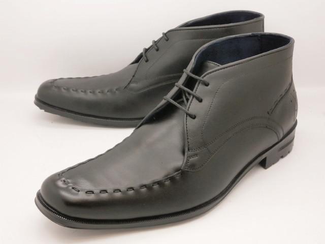 【レインブーツ】 キャサリンハムネット 靴 ビジネスシューズ31998(ブラック)超人気KATHARINE HAMNETTメンズ レインシューズ 防水