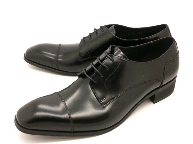 【在庫限り】キャサリンハムネット 靴ビジネスシューズ外羽根ストレートチップ 3969(ブラック)KATHARINE HAMNETTメンズ 紳士靴