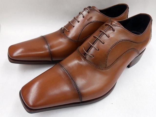 【大ヒット!後継品】 キャサリンハムネット 靴 ストレートチップ ビジネスシューズ 31594(ブラウン) KATHARINE HAMNETT メンズ 紳士靴