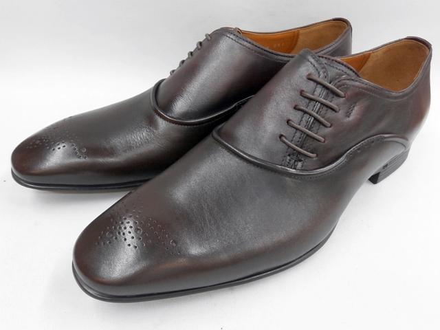 【19年秋冬最新!】 キャサリンハムネット 靴 ビジネスシューズモールドソール サイドレース 31615(ダークブラウン) KATHARINE HAMNETT メンズ 紳士靴