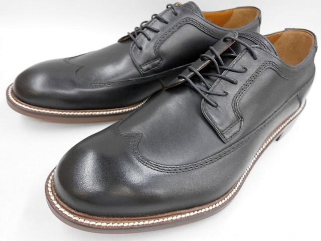 【19年秋冬最新!】 キャサリンハムネット 靴 ビジネスシューズウィングチップ 31618(ブラック) KATHARINE HAMNETT メンズ 紳士靴