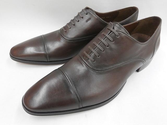【20年春発売】 キャサリンハムネット 靴 ビジネスシューズラウンドトゥ ストレートチップ 31633(ダークブラウン) KATHARINE HAMNETT メンズ 紳士靴