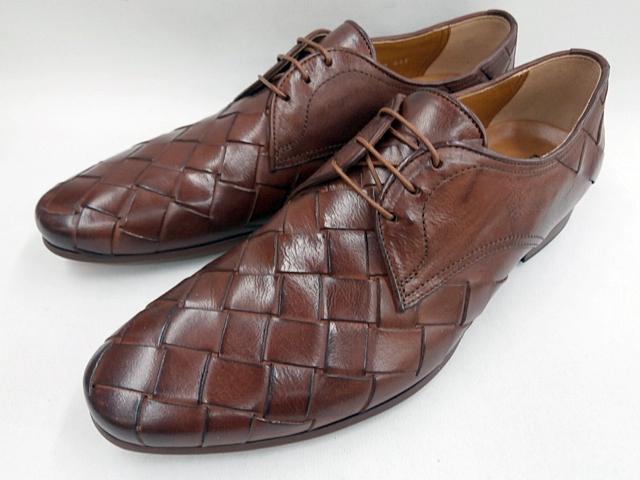 【好評!追加モデル】 キャサリンハムネット 靴 ブラッチャー本革メッシュ 31635(ブラウン) KATHARINE HAMNETT メンズ 紳士靴