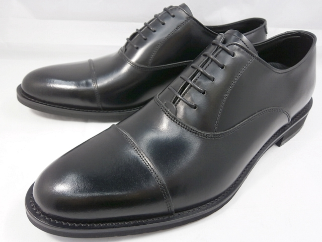 KENFORD(ケンフォード) 靴 メンズ ストレートチップ ビジネスシューズ KN62 ACJ(ブラック)