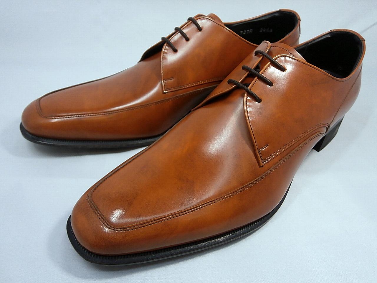 リーガル 靴 メンズ スタイリッシュ・Uチップ ビジネスシューズ 727R AL(ブラウン)REGAL【送料無料】