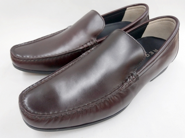 リーガル 靴 メンズ ヴァンプスリッポンカジュアル 56HR(ワイン)REGAL【送料無料】