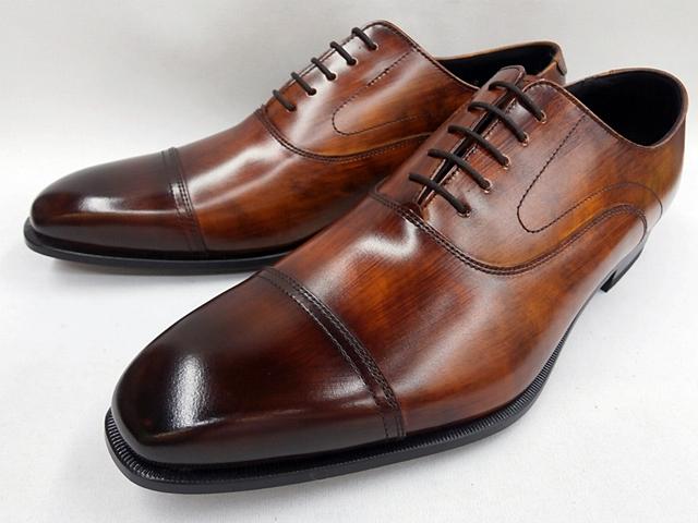 リーガル 靴 メンズ バルモラルストレートチップ ビジネスシューズ 21UR(ブラウン)REGAL
