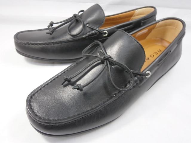 リーガル 靴 メンズ ドライビング・デッキシューズ 55PR (ブラック) REGAL 【送料無料】