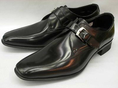 リーガル 靴 メンズ ストラップビジネスシューズ 728R AL(ブラック)REGAL【送料無料】