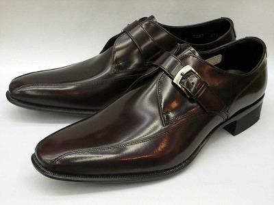 リーガル 靴 メンズ ストラップ ビジネスシューズ 728R AL(ワイン)REGAL【送料無料】