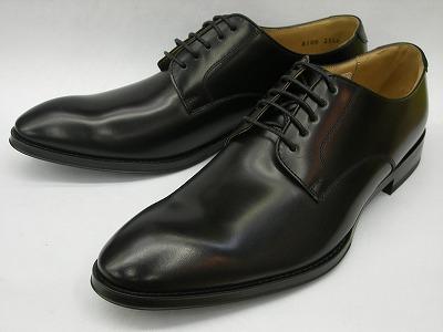 リーガル 靴 メンズ プレーントゥ ビジネスジューズ 810R AL(ブラック) REGAL