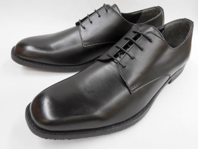 【セメンテッド式】 Robe pleine(ロベプラン)プレーントゥ 本革ビジネスシューズ RP-3100(ブラック) メンズ 靴