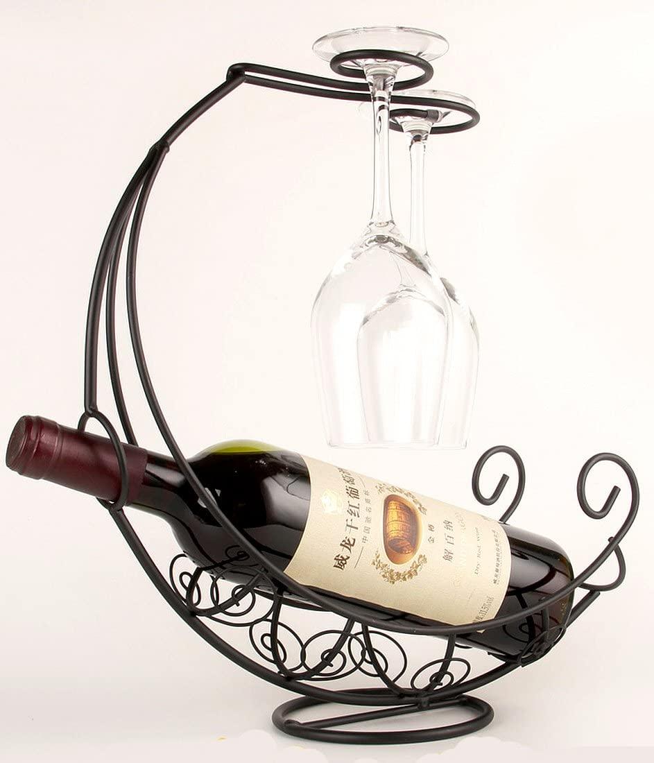 アンティーク調 海賊船 ワインホルダー 爆売り ワイングラス ふるさと割 ラック W40 ボトル インテリア スタンド シャンパン