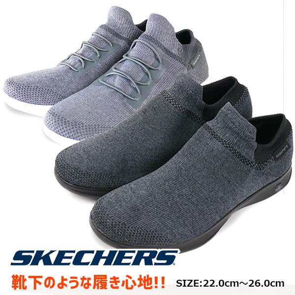 99e0df6bb633 Regular article スケッチャーズ SKECHERS GO STEP LITE ULTRASOCK Lady s casual shoes  slip-ons type lightweight ...
