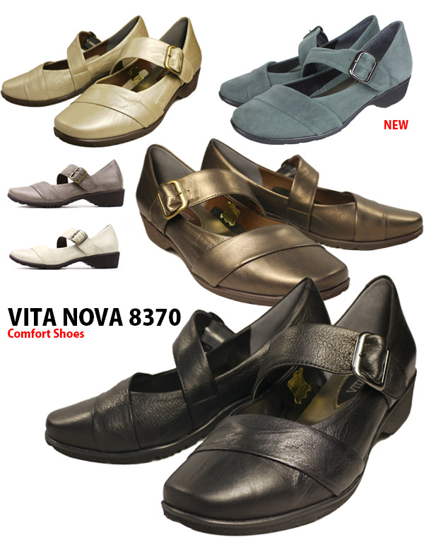VITA NOVA ビタノバ Womens comfort shoes leather lightweight □ vi8370 □