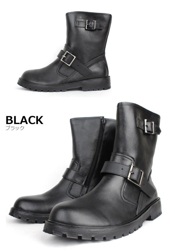 P.B.CONVOY 完全防水工程师靴男士休闲靴子雨长鞋短长度摩托车车手为 □ mmg310u □