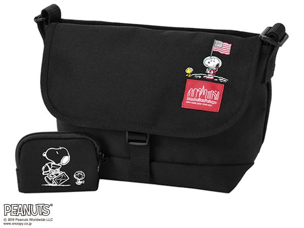 【国内正規品】 マンハッタンポーテージ MP1605JRS ピーナッツ スヌーピ コレクション メッセンジャーバッグ Manhattan Portage × EANUTS Casual Messenger Bag