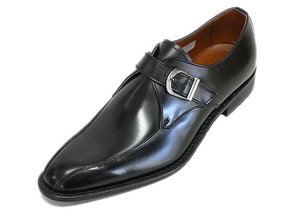モンクストラップ プレーントゥ 紳士靴 KENFORD/ ベーシックなデザインのロングセラーモデル! フォーマル ケンフォード ビジネス ブラック