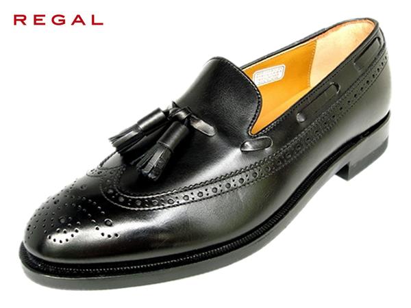 REGAL リーガル JE03 AH ブラック ウイングタッセル