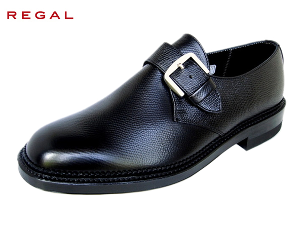 REGAL リーガル 2321 ブラック モンクストラップ