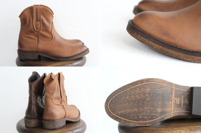 西部长筒皮靴短JOE SANCHEZ(乔桑切斯)No.1万7467