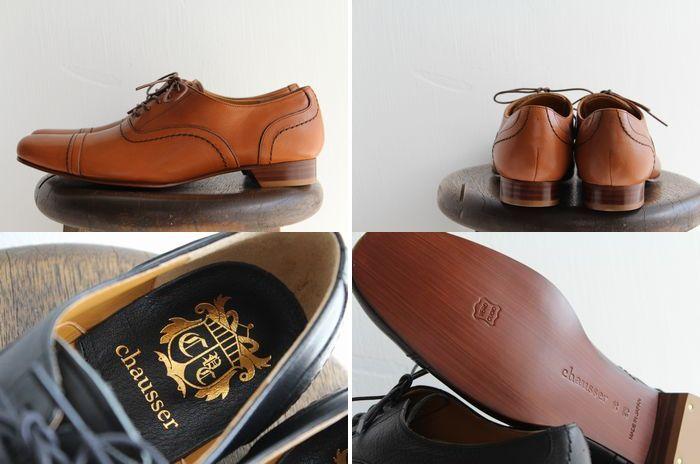chausser ( Chaussée ) ストレートチップレース up shoes C-247