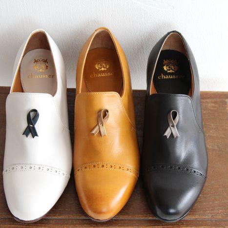 【クーポン対象外】chausser ショセ キャップトゥスリッポンシューズ C-2174 レディース 靴