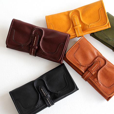 【クーポン対象外】chausser ショセ レザーロングウォレット C-639 レディース メンズ 財布