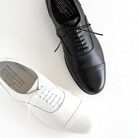 【10%OFFクーポン配布中】TRAVEL SHOES by chausser トラベルシューズバイショセ ストレートチップレースアップシューズ TR-001M メンズ 靴