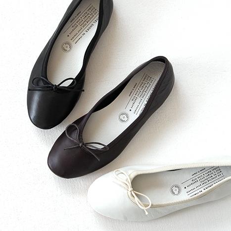 【10%OFFクーポン配布中】TRAVEL SHOES by chausser トラベルシューズバイショセ フラットパンプス/バレエシューズ TR-009 レディース 靴