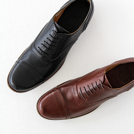 【クーポン対象外】chausser ショセ キャップトゥレースアップシューズC-721 メンズ 靴