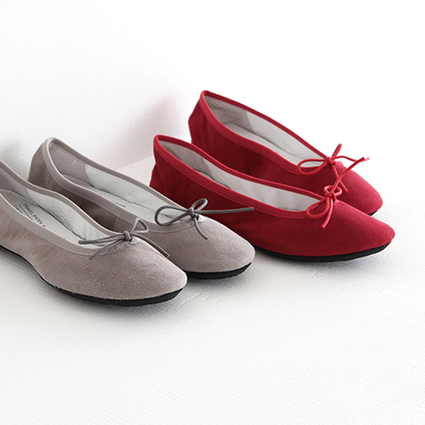 TRAVEL SHOES by chausser トラベルシューズバイショセ フラットパンプス/バレエシューズ TR-009SK レディース 靴
