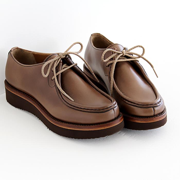 靴 plus PC-5056 chausser ショセ プリュス レディース by バイ chromexcel クロムエクセルレザー チロリアンシューズ