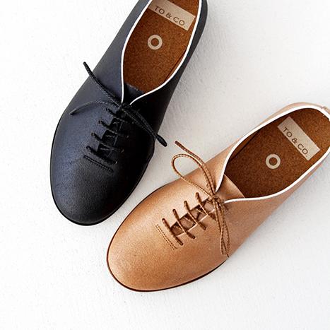【SALE 30%OFF】TO&CO. トゥーアンドコー レースアップシューズ ANTWERP 靴 レディース